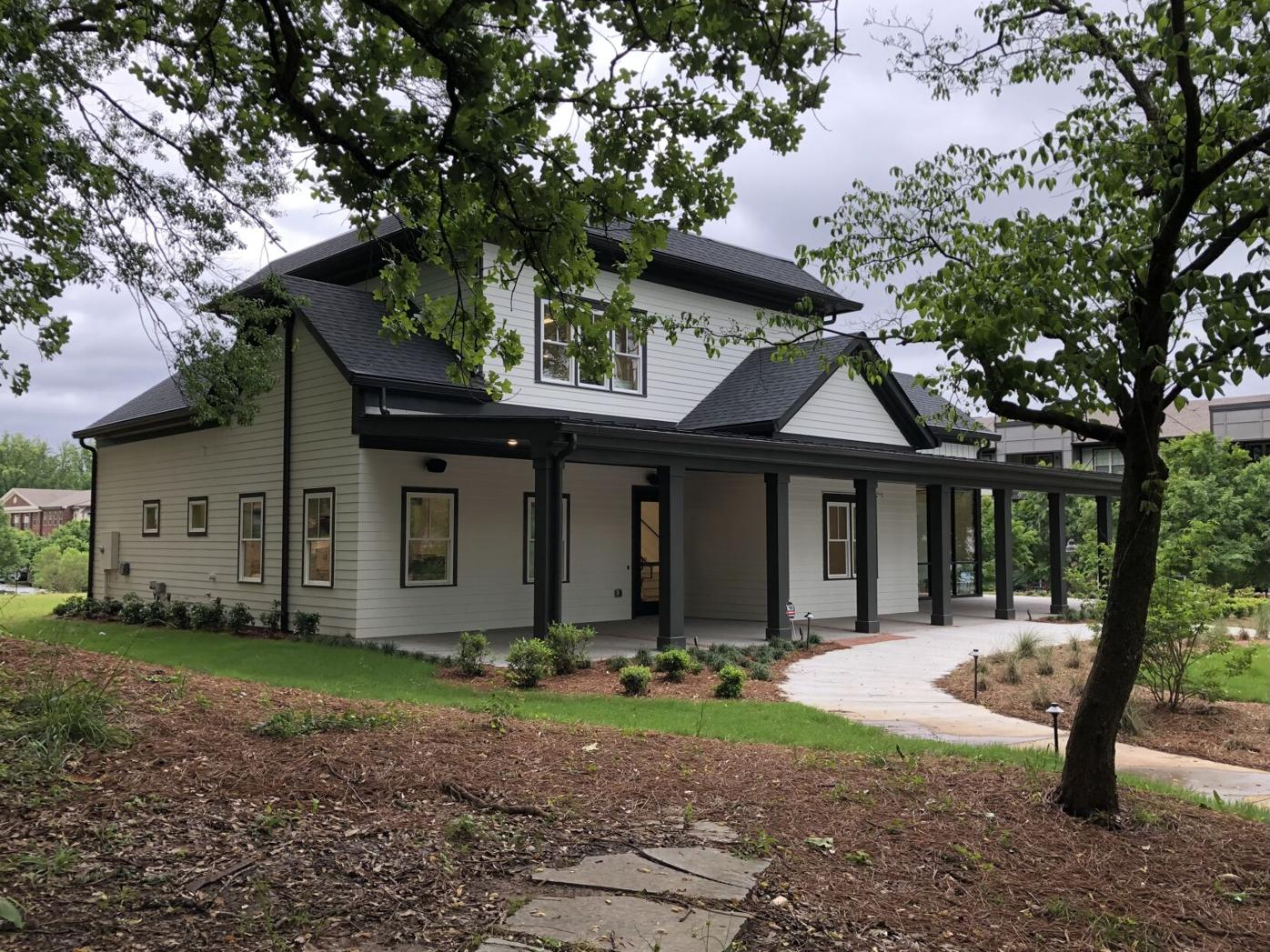 The Reeves House Visual Arts Center is opening Friday and will host a number of events and programs. The center will also feature a coffee and wine bar. Ethan Johnson