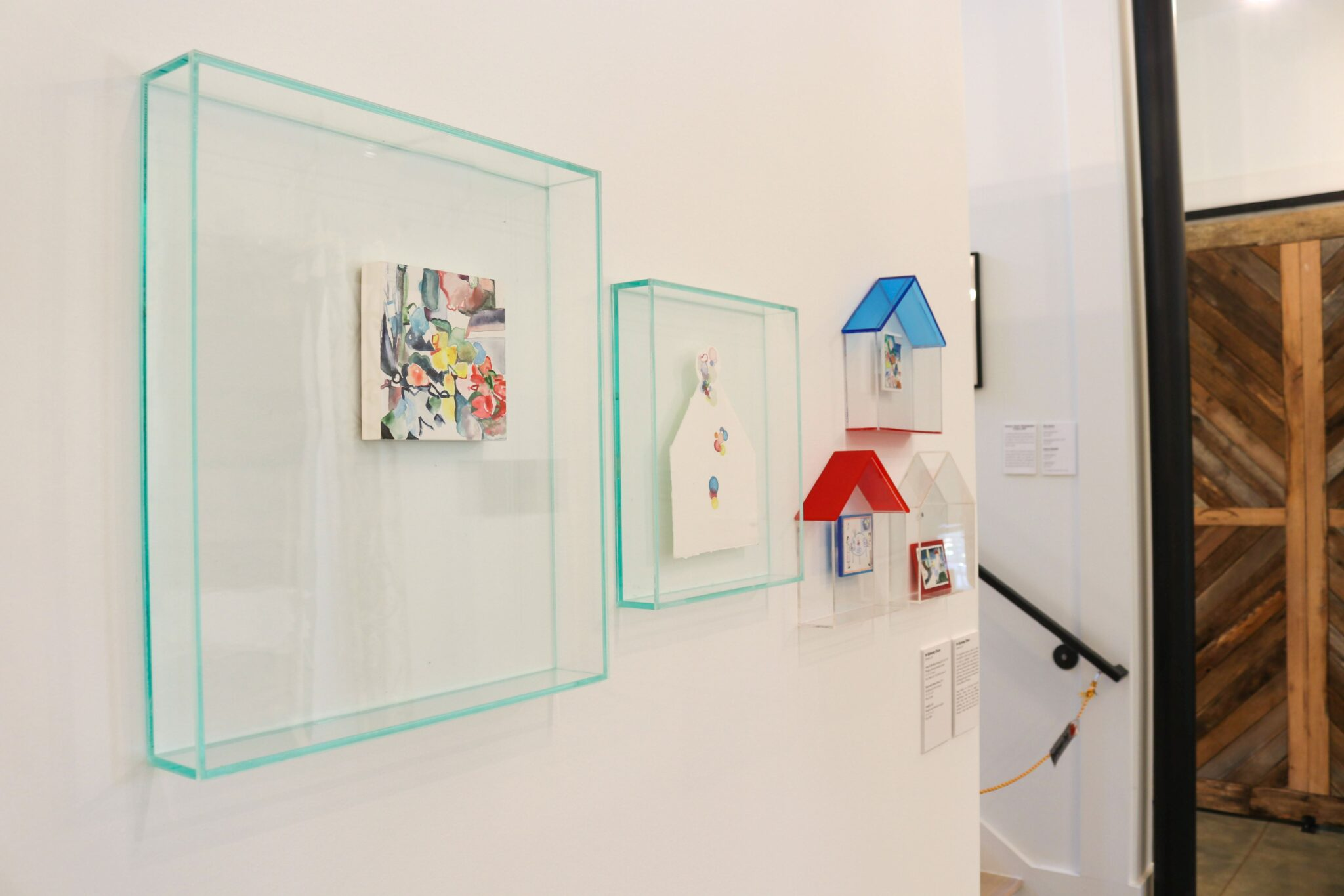 """Artist In Kyoung Chun is one of 20 artists with art on display at the [sic] Reeve Visual Arts Center through July 4. This piece is called """"Come To My House."""" Special - Nicole Lampl"""